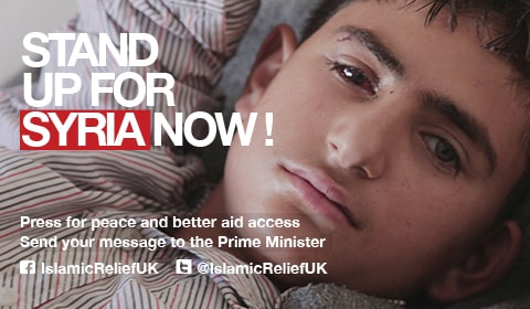 Stand up for Syria campaign