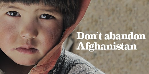 Islamic Relief urges world leaders: Don't Abandon Afghanistan