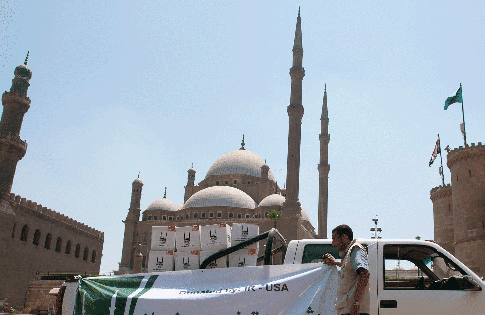 Islamic community organises nationwide collections outside mosques for DEC East Africa Appeal
