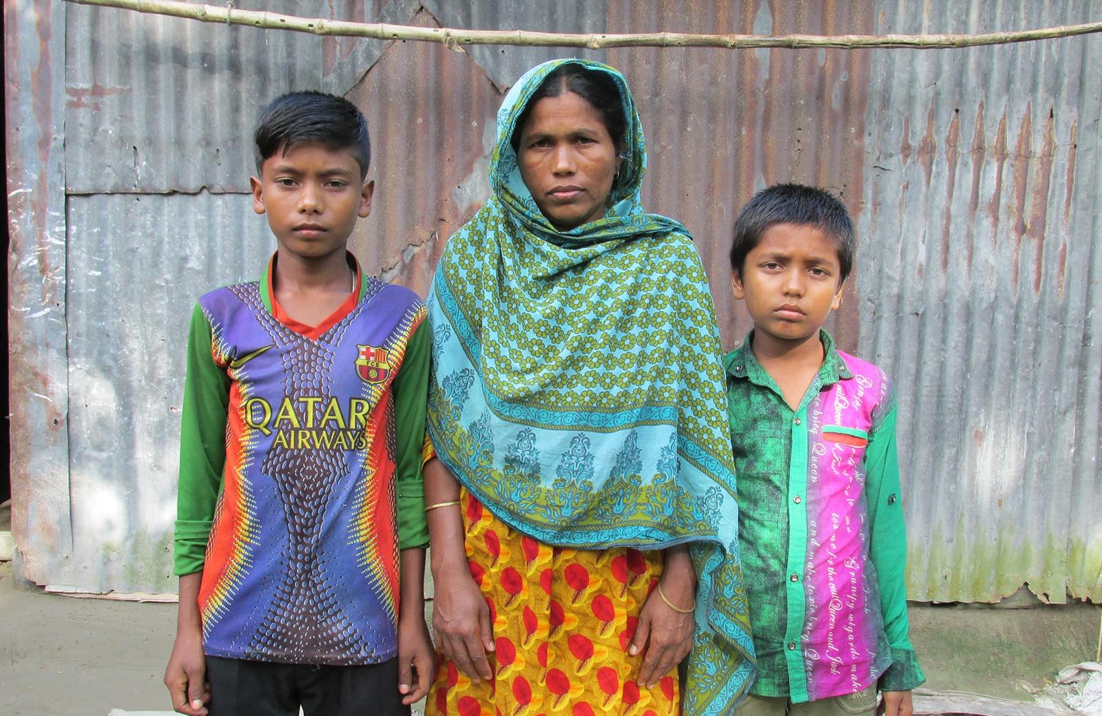 CW2017 Charity Week bangladesh Fojila